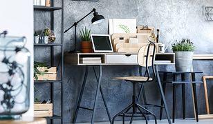 Modne biurko może odmienić styl całego pomieszczenia
