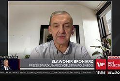 """Sławomir Broniarz o nauczaniu zdalnym w klasach 1-3. Prezes ZNP mówi, że """"500 zł brzmi jak żart"""""""