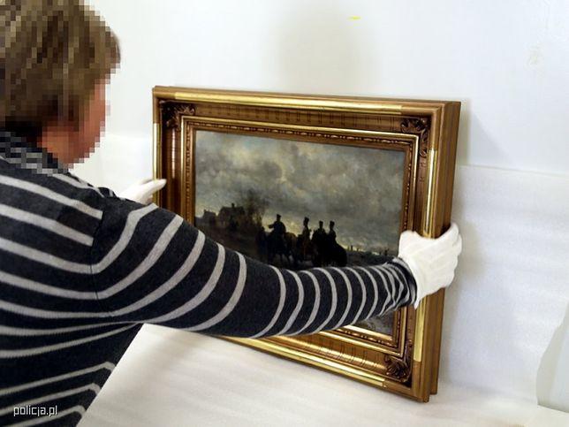 Odzyskano słynny obraz Gierymskiego z 1869 roku. Zaginął podczas II wojny światowej