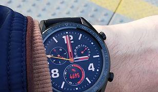 Huawei Watch GT prezentuje się całkiem nieźle