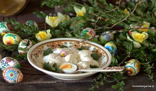 Jajka w sosie musztardowym