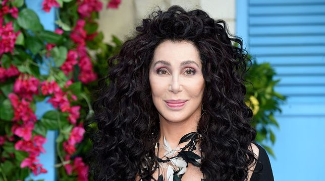 "Cher na premierze filmu ""Mamma Mia: Here I go again"""