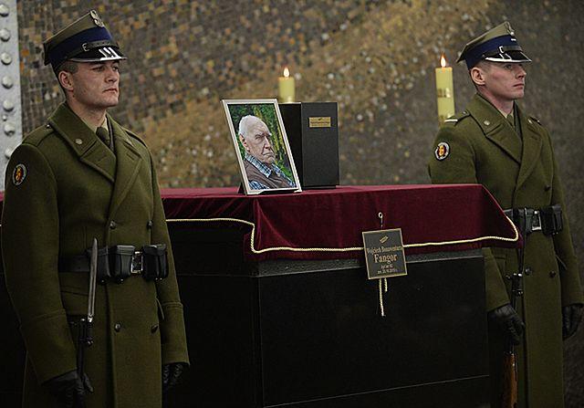 Pożegnanie Wojciecha Fangora