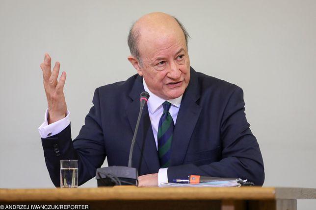"""Jan Rostowski uważa, że premier jest """"umoczony"""" w aferę Getback"""