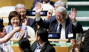 Duda i Waszczykowski otrąbili sukces, ale członkostwo w RB ONZ to również zasługa PO