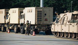 Transportowano amerykański sprzęt wojskowy z Polski do Niemiec