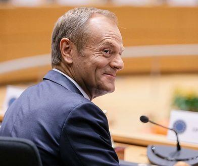 Donald Tusk opublikował zdjęcie wnuczki