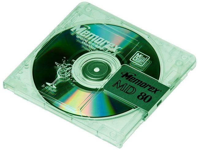 Sony zaprezentował Mini Disc w 1993 roku, a produkcję sprzętu do tego zakończono w 2003