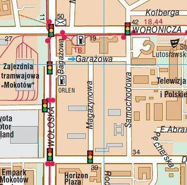 Nowe ulice na Mokotowie. Zamiast Bagażowej - ulica Holoubka