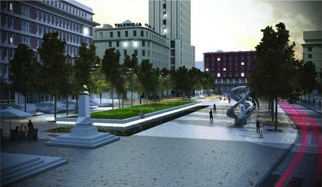 Deptak zamiast parkingu. Rusza remont placu Powstańców Warszawy