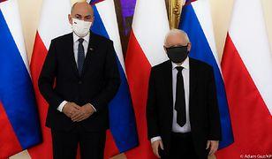 Spotkanie na szczycie. Prezes PiS przyjął premiera Słowenii
