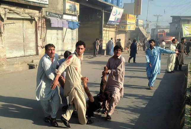 Znowu krwawy zamach w Pakistanie. Wielu zabitych i rannych
