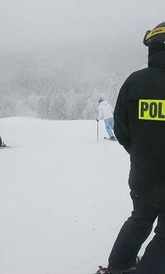 Małopolska - policjanci ruszyli na stoki