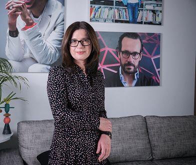 """Iwona Ławecka-Marczewska, redaktor naczelna magazynu """"Dobre Wnętrze"""""""