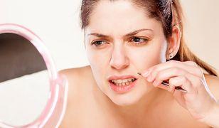 Depilacja twarzy pozwala pozbyć się wąsika i wyregulować brwi
