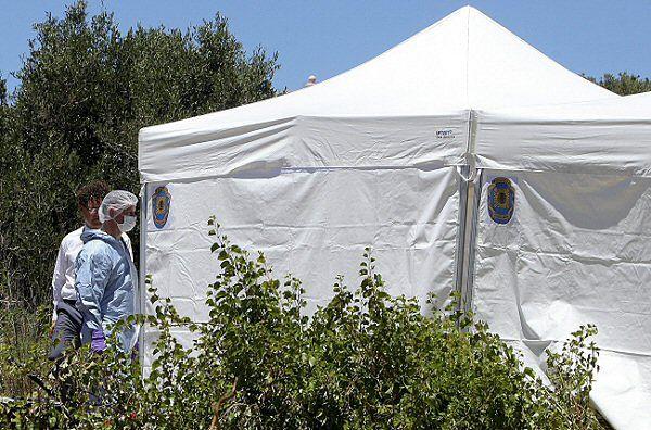 Poszukiwania Madeleine McCann. Policjanci badają dół