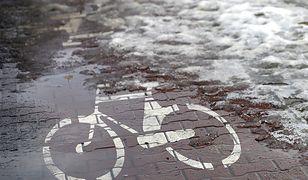 Warszawa. Ścieżki rowerowe niebędą odśnieżane. Aktywiści protestują