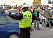 Policja niebezpiecznie ścięta