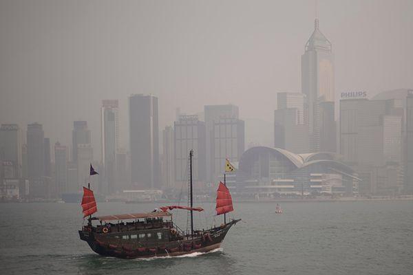 Osiem miast ukaranych za zanieczyszczenie powietrza w Chinach