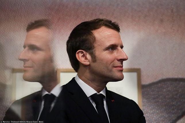 Prezydent Francji Emmanuel Macron (zdj. arch.)