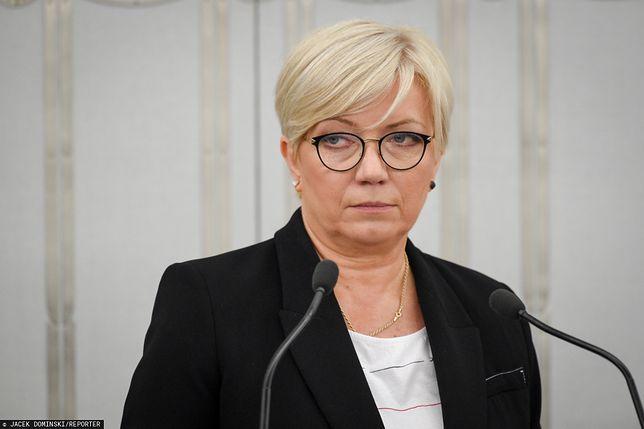 Julia Przyłębska nie zjawiła się w Sejmie
