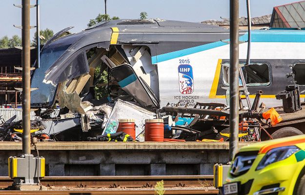 W wyniku wypadku zginęło trzech pasażerów pociągu Pendolino