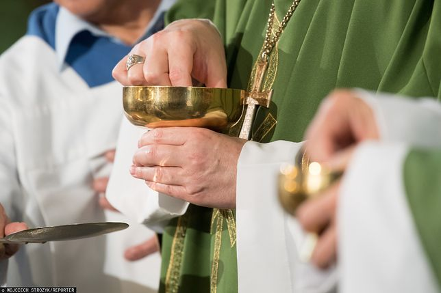 Parafianie wyszli podczas kazania w kościele w Kaliszu