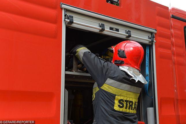 Na ul. Konstytucji 3 Maja doszło do uszkodzenia instalacji gazowej średniego ciśnienia.  Aktualnie trwa ewakuacja mieszkańców toruńskiej Skarpy.