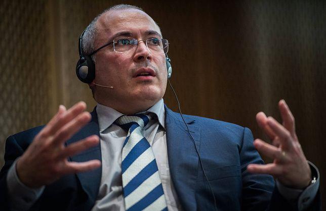 Chodorkowski: Putin chętnie by już skończył karierę