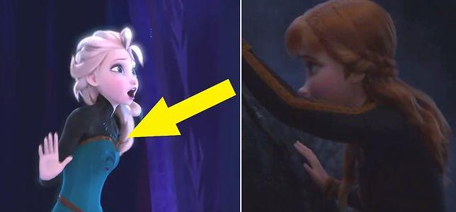 """W """"Krainie lodu 2"""" pojawia się ten sam techniczny błąd co w pierwszej części"""