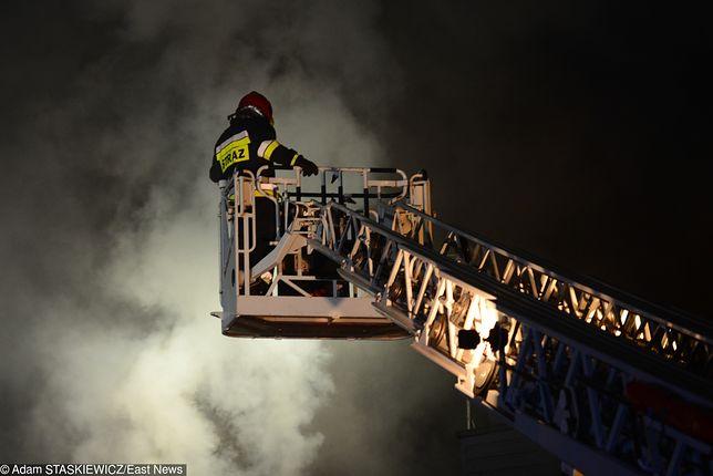Lublin. Pożar w Domu Pomocy Społecznej