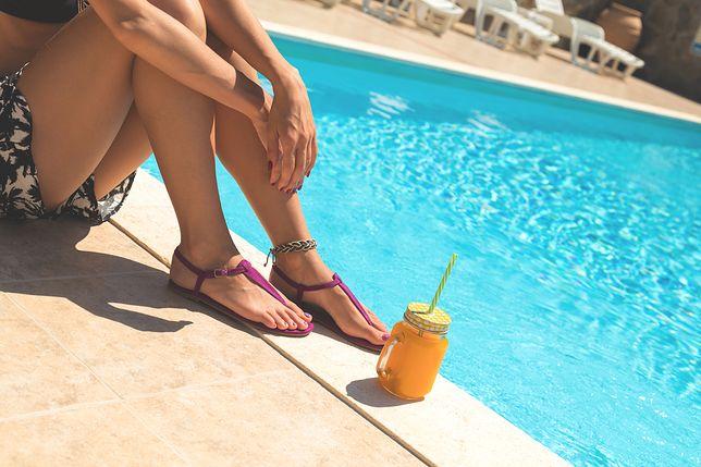 Sandały są idealnym obuwiem na lato