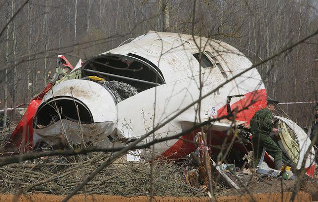 Wrak tupolewa pozostanie w Rosji do końca śledztwa