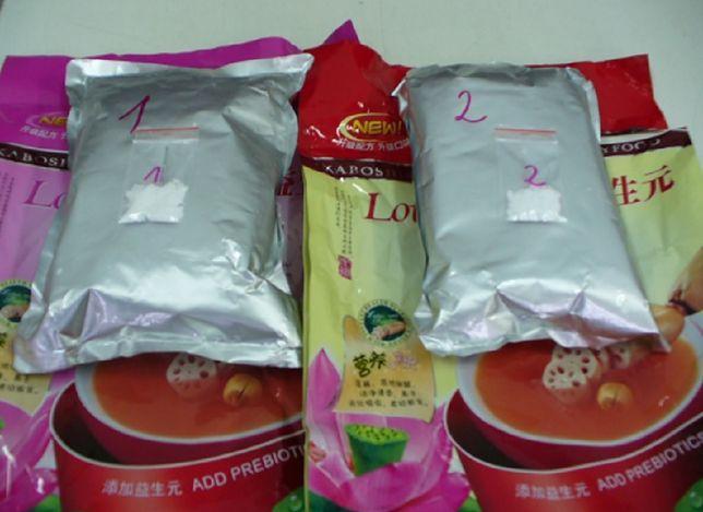 Prawie 3 kg sterydów w paczkach z Chin