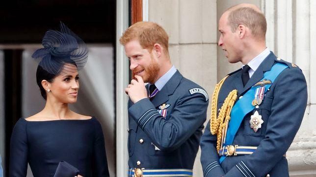 Relacje Meghan i Harry'ego z Williamem są od dawna napięte.