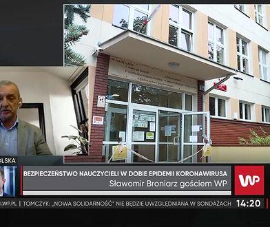 """Sławomir Broniarz o sytuacji nauczycieli. """"Polityka bierze górę nad zdrowym rozsądkiem"""""""