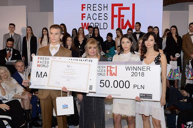 Relacja z gali finałowej Fresh Faces World 2018