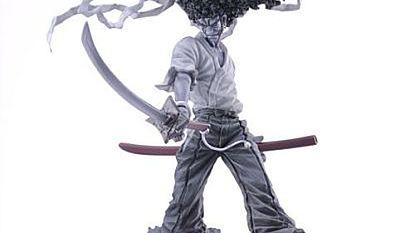 Figurki z Afro Samurai