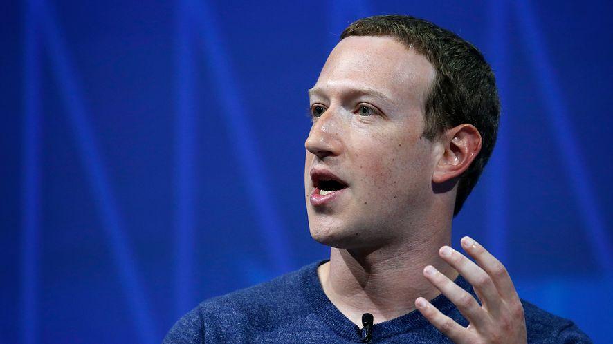 Szef Facebooka, Mark Zuckerberg (Getty Images)