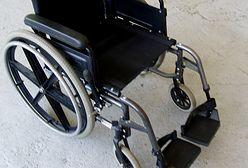 Skradziono samochód - w środku był wózek inwalidzki
