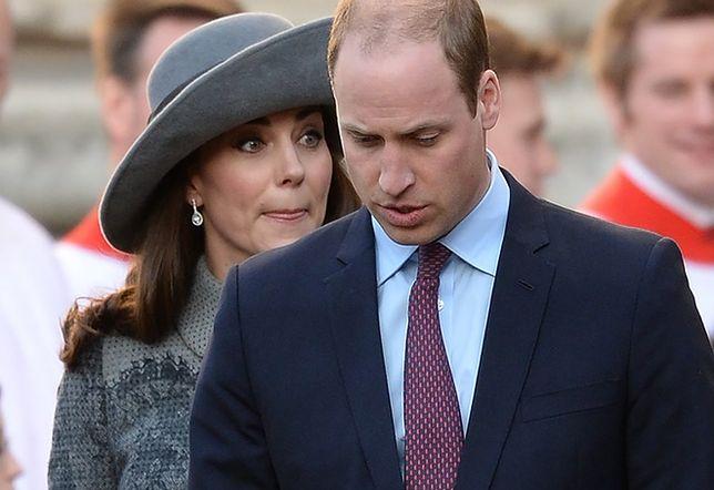Książę William wspiera księżną Kate