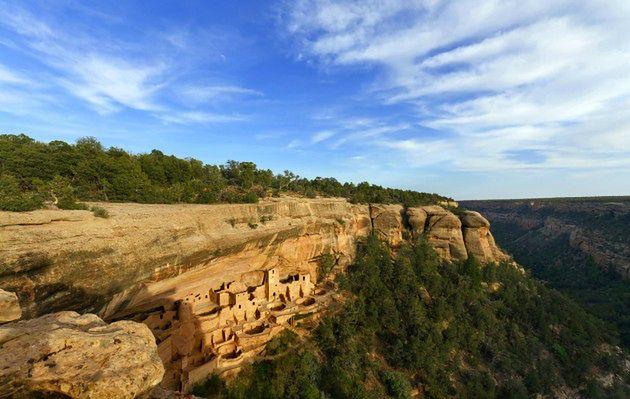 Park Narodowy Mesa Verde w USA