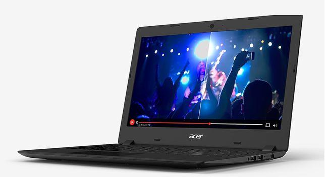 Laptop Acer w Biedronce