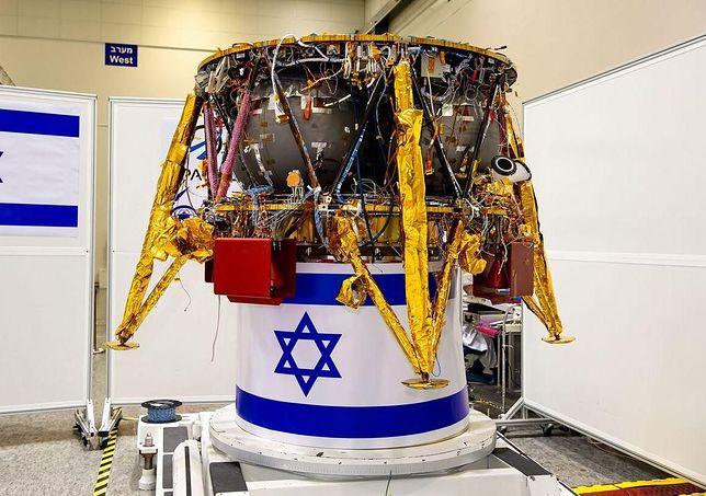 To pierwsza misja kosmiczna Izraelczyków