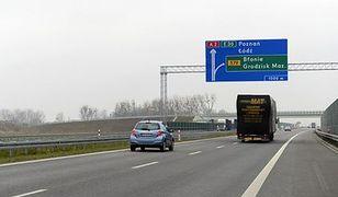 Autostrada A2 Nowy Tomyśl - Konin droższa od 12 stycznia