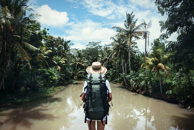 Samotna podróżniczka