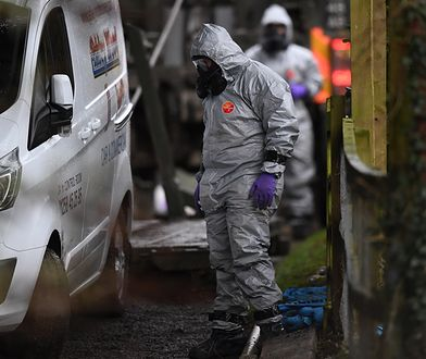 Media: Policja namierzyła podejrzanych o atak na Skripala