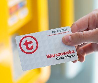 Warszawa. Bilet długookresowy można odwiesić przez internet