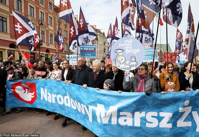 Narodowy Marsz Życia zgromadził ok. 20 tys. uczestników
