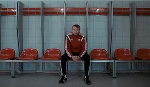 Tadeusz Pawłowski. Kadr z filmu, który o piłkarzu i trenerze nakręcił Śląsk Wrocław.